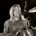 Taylor Hawkins of the foo fighters by Oxfordshire and London based photographer Andrew Ogilvy